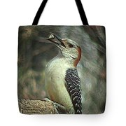 Red Bellied Woodpecker Tote Bag