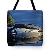 Red Breasted Merganser Tote Bag