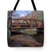 Red Bridge Tote Bag