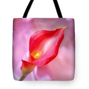 Red Calla Lily Tote Bag by Mike McGlothlen