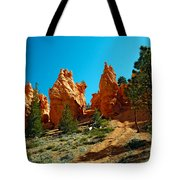 Red Canyon Trail Tote Bag