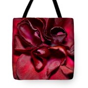 Red Carnation With Heart Tote Bag