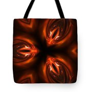 Red Caviar Tote Bag