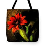 Red Coneflower Tote Bag