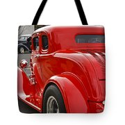 Red Coupe Tote Bag
