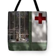 Red Cross. Belgrade. Serbia Tote Bag