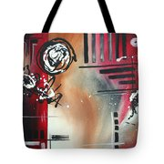 Red Divinity By Madart Tote Bag