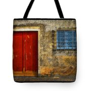 Red Doors Tote Bag by Mauro Celotti