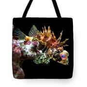 Red Eyed Scorpion Fish Tote Bag