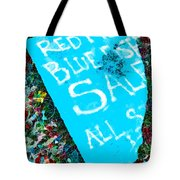 Red Fish Blue Fish Sale Tote Bag