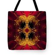 Red Flower Art Tote Bag