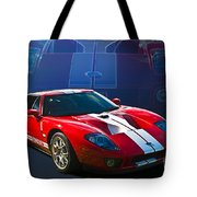Red Ford Gt40 Tote Bag