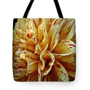 Red Freckles Tote Bag