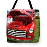 Red Gmc Tote Bag
