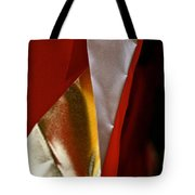 Red Gold And White Tote Bag