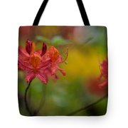 Red Groups Tote Bag