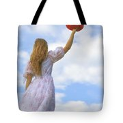 Red Hat Tote Bag by Joana Kruse