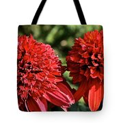 Red Head Twins Tote Bag