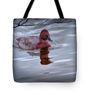 Red Headed Duck Tote Bag