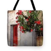 Red In Provence Tote Bag