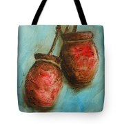 Red Jars Tote Bag