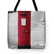 Red King George V Postbox Tote Bag