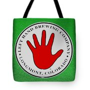 Red Left Hand Tote Bag