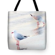 Red Legs And Lipstick Tote Bag