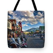 Red  Lodge Motorcycle Rally Tote Bag