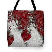 Red Love Tote Bag