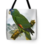 Red-necked Amazon Parrot Tote Bag