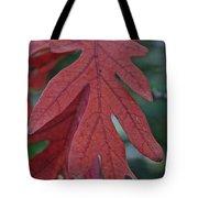 Red Oak Leaf Tote Bag