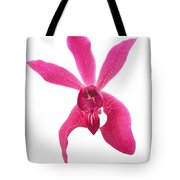 Red Orchid Head Tote Bag