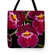 Red Orchids Tote Bag
