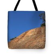 Red Pine Tree Tote Bag