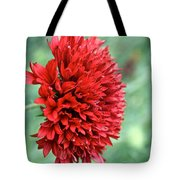 Red Plume Tote Bag
