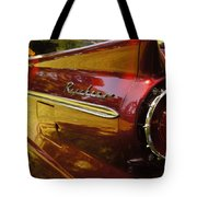 Red Ranchero And Round Taillight Tote Bag