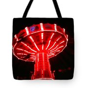 Red Ride Is Wild Tote Bag