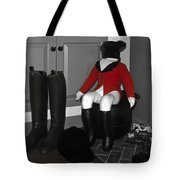 Red Riding Jacket Tote Bag