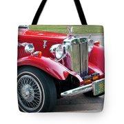 Red Roadster Tote Bag