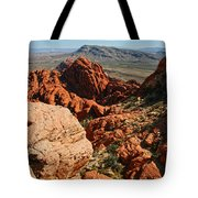 Red Rock Canyon At The Tank Tote Bag