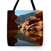Red Rock Canyon Water Tote Bag