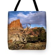 Red Rock Castle Tote Bag
