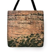 Red Rock Cliffs Along The Hood River Tote Bag