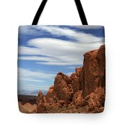 Red Rock Cliffs Valley Of Fire Nevada Tote Bag
