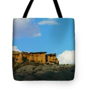 Red Rock In New Mexico Tote Bag