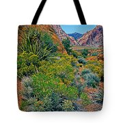 Red Rock Park Spring Flowers Tote Bag