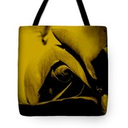 Red Rose Close Up 2011 In Yellow Tote Bag