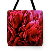 Red Ruffles Tote Bag