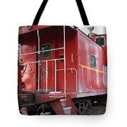 Red Sante Fe Caboose Train . 7d10330 Tote Bag
